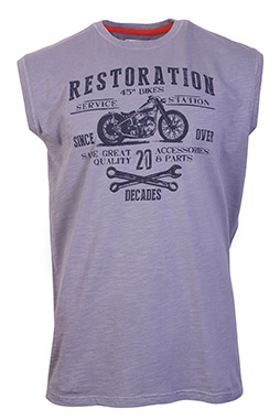 Sport, Camisetas M. Corta, 109152, GRIS MEDIO