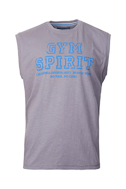 Sport, Camisetas M. Corta, 109155, GRIS MEDIO