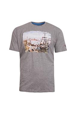 Sport, Camisetas M. Corta, 109162, GRIS MEDIO