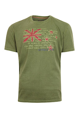 Sport, Camisetas M. Corta, 109164, KAKI