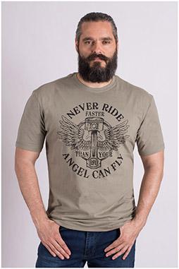 Sport, Camisetas M. Corta, 109196, KAKI