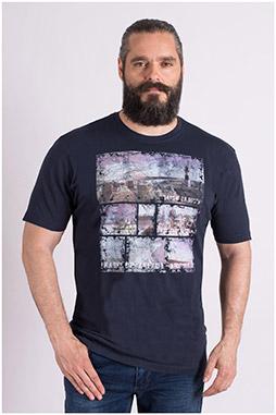 Sport, Camisetas M. Corta, 109199, MARINO