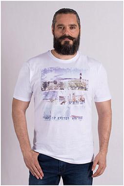 Sport, Camisetas M. Corta, 109199, BLANCO
