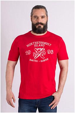 Sport, Camisetas M. Corta, 109200, ROJO