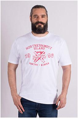 Sport, Camisetas M. Corta, 109200, BLANCO