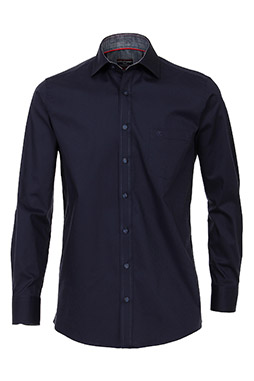 Camisas, Vestir Manga Larga, 109225, MARINO