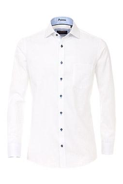 Camisas, Vestir Manga Larga, 109235, BLANCO