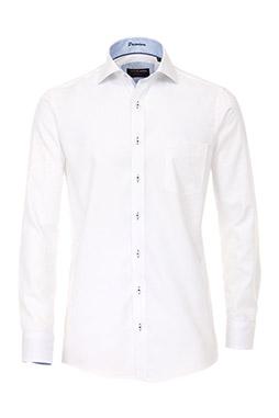 Camisas, Vestir Manga Larga, 109238, BLANCO