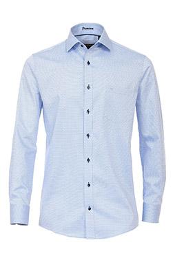 Camisas, Vestir Manga Larga, 109239, CELESTE