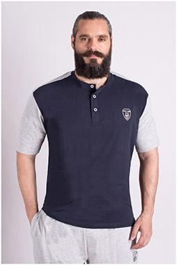 Sport, Camisetas M. Corta, 109247, MARINO