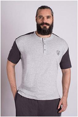 Sport, Camisetas M. Corta, 109247, GRIS MEDIO