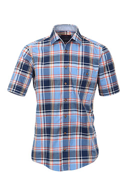 Camisas, Sport Manga Corta, 109275, AZUL
