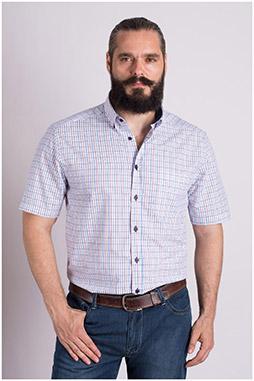 Camisas, Sport Manga Corta, 109301, AZUL