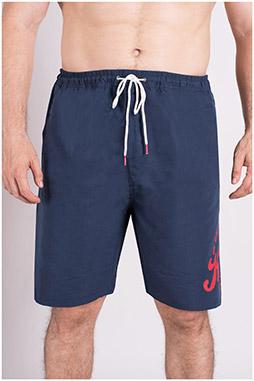 Pantalones, Bañadores, 109312, MARINO