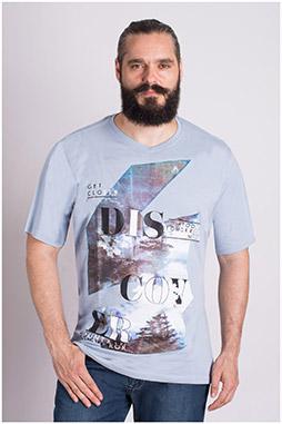 Sport, Camisetas M. Corta, 109316, CELESTE