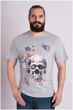Sport, Camisetas M. Corta, 109317, GRIS MEDIO