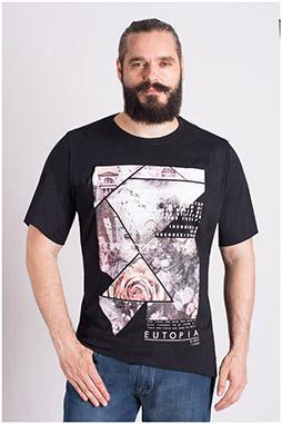 Sport, Camisetas M. Corta, 109318, NEGRO