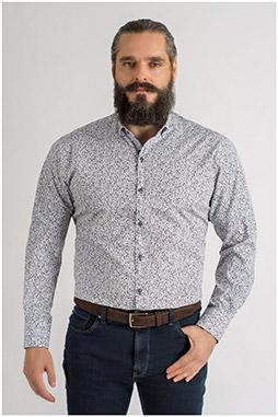 Camisas, Sport Manga Larga, 109328, MARINO
