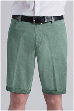 Pantalones, Bermudas, 109365, VERDE