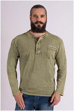 Sport, Camisetas M. Larga, 109381, KAKI