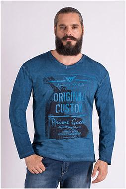 Sport, Camisetas M. Larga, 109391, NOCHE