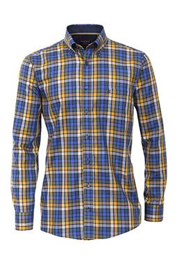 Camisas, Sport Manga Larga, 109507, AZUL