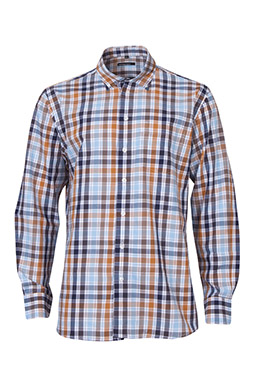 Camisas, Sport Manga Larga, 109568, AZUL