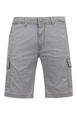 Pantalones, Bermudas, 109577, GRIS MEDIO