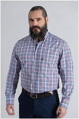 Camisas, Sport Manga Larga, 109590, MARINO