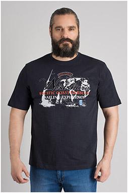 Sport, Camisetas M. Corta, 109614, MARINO