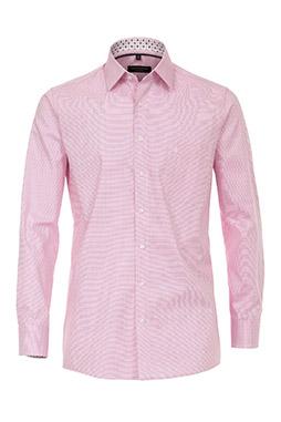 Camisas, Vestir Manga Larga, 109639, ROSA
