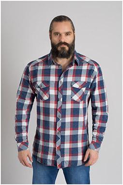 Camisas, Sport Manga Larga, 109648, GRANATE