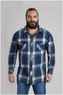 Camisas, Sport Manga Larga, 109648, MARINO