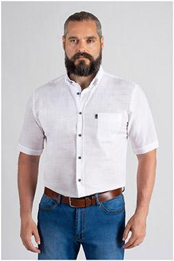 Camisas, Sport Manga Corta, 109653, BLANCO