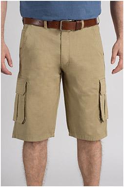 Pantalones, Bermudas, 109713, CAMEL