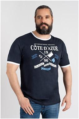 Sport, Camisetas M. Corta, 109728, MARINO