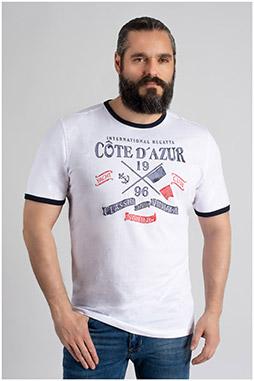 Sport, Camisetas M. Corta, 109728, BLANCO