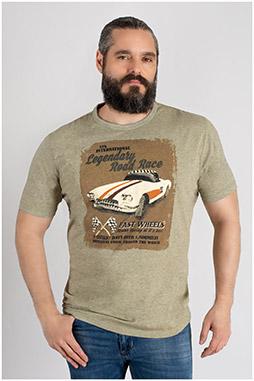 Sport, Camisetas M. Corta, 109730, PIEDRA