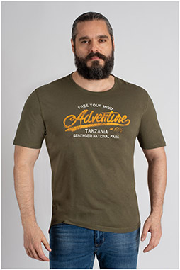Sport, Camisetas M. Corta, 109733, KAKI