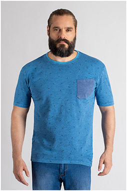 Sport, Camisetas M. Corta, 109737, INDIGO