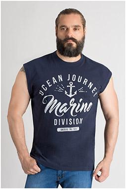 Sport, Camisetas M. Corta, 109740, MARINO