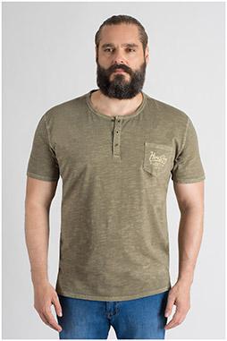 Sport, Camisetas M. Corta, 109741, KAKI