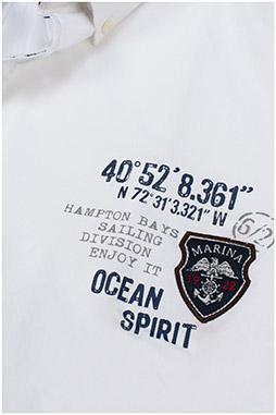 Camisas, Sport Manga Corta, 109744, MARINO