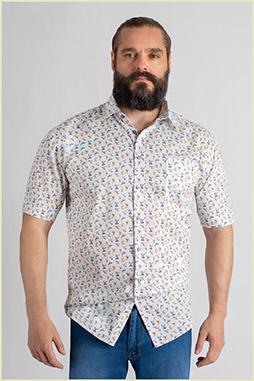 Camisas, Sport Manga Corta, 109751, BLANCO