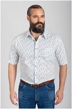 Camisas, Sport Manga Corta, 109751, CELESTE
