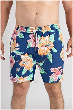 Pantalones, Bañadores, 109756, MARINO