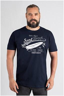 Sport, Camisetas M. Corta, 109758, MARINO