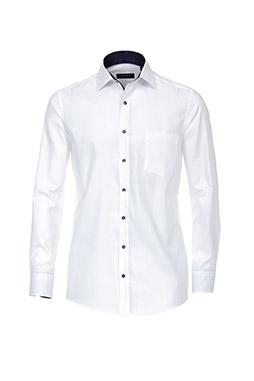 Camisas, Vestir Manga Larga, 109769, BLANCO