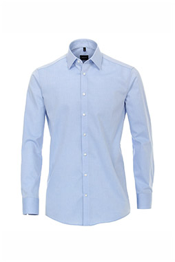 Camisas, Vestir Manga Larga, 109771, CELESTE
