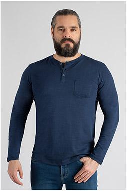 Sport, Camisetas M. Larga, 109827, MARINO